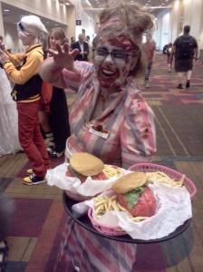 Brain Burgers, Yum.