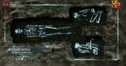Screenshot of giant burials.